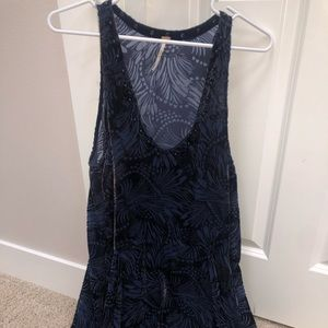 Free people navy dress
